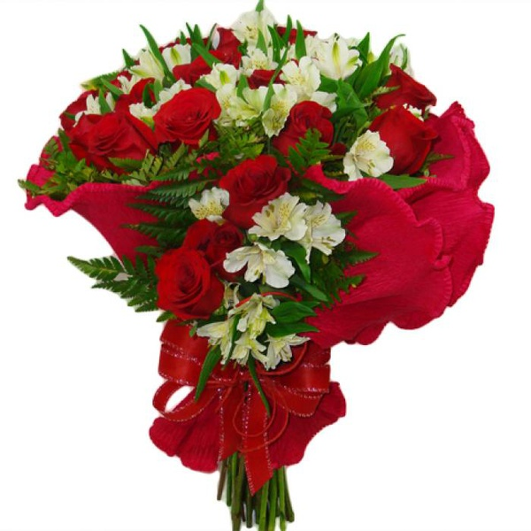 Buquê 18 Rosas Elegance