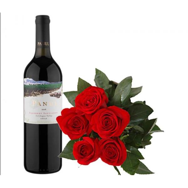 Rosas e Vinho