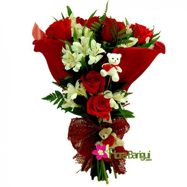 Buquê Flores e Segredos