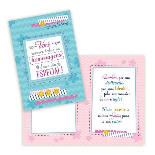 Cartão Homenagens para Você
