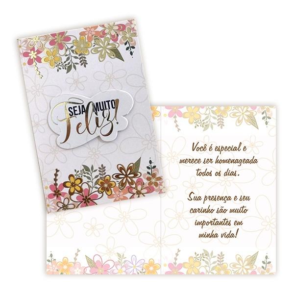 Cartão Seja Muito Feliz