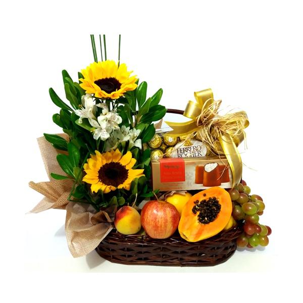 Chocofruit com Flores