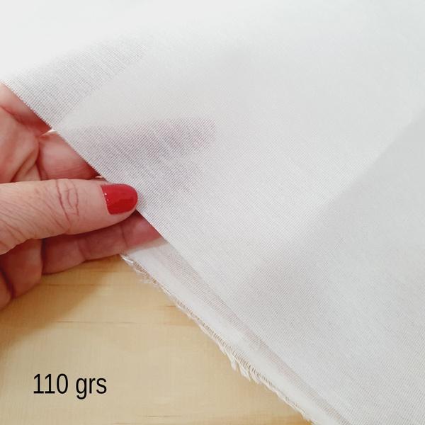 Entretela de Tecido 110grs termocolante (0,50cm x ... - BOUTIQUEDASRENDAS