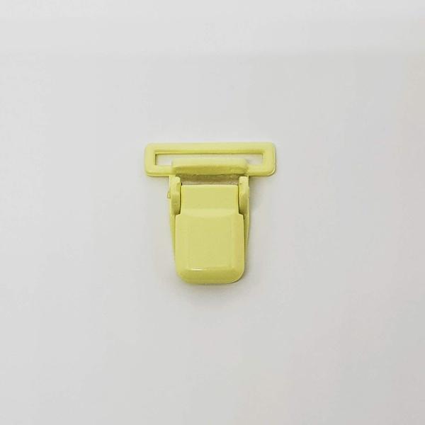 Prendedor de chupeta - Amarelo claro - AMA1 - BOUTIQUEDASRENDAS