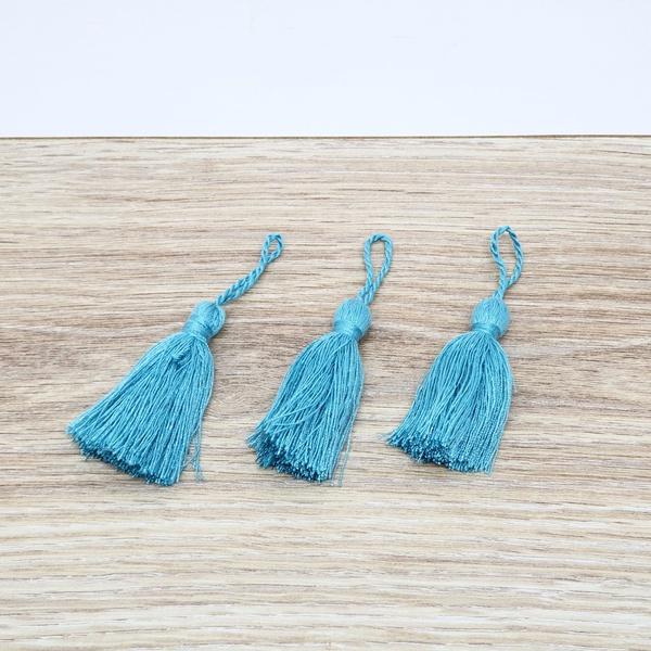 Tassel Poliéster 5,3 cm - Tiffany (pcte com 3 unid... - BOUTIQUEDASRENDAS