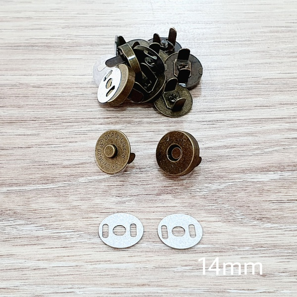 Botão de ímã SIMPLES 14mm - Ouro Velho (pacte com ... - BOUTIQUEDASRENDAS