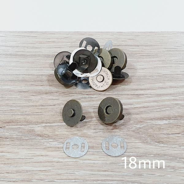 Botão de ímã SIMPLES 18mm - Ouro Velho (pacte com ... - BOUTIQUEDASRENDAS