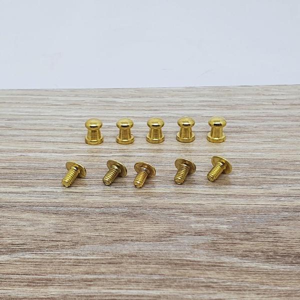 Carrapeta dourada PQ - CARR-01 - BOUTIQUEDASRENDAS