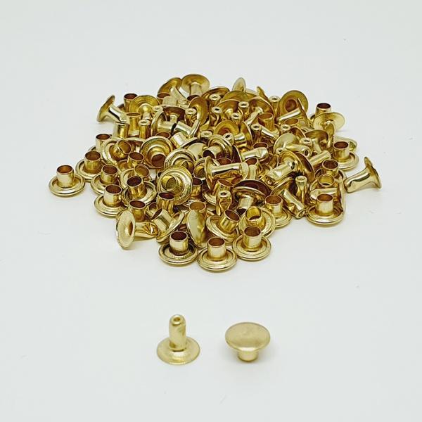Rebite simples n° 1,5 - Dourado - REB15-DOU - BOUTIQUEDASRENDAS