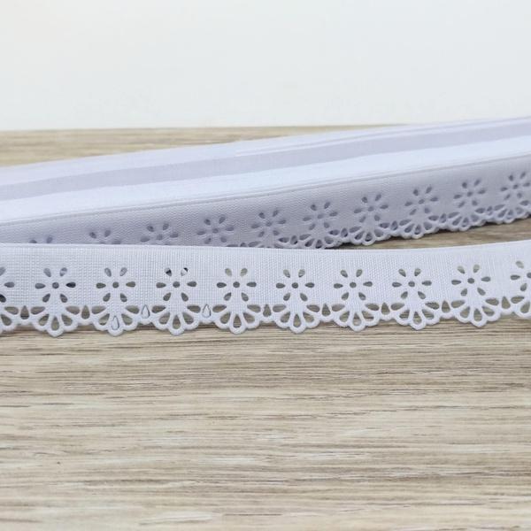 Mini Lasynha Crochê 98 - Branco - 98-216 - BOUTIQUEDASRENDAS
