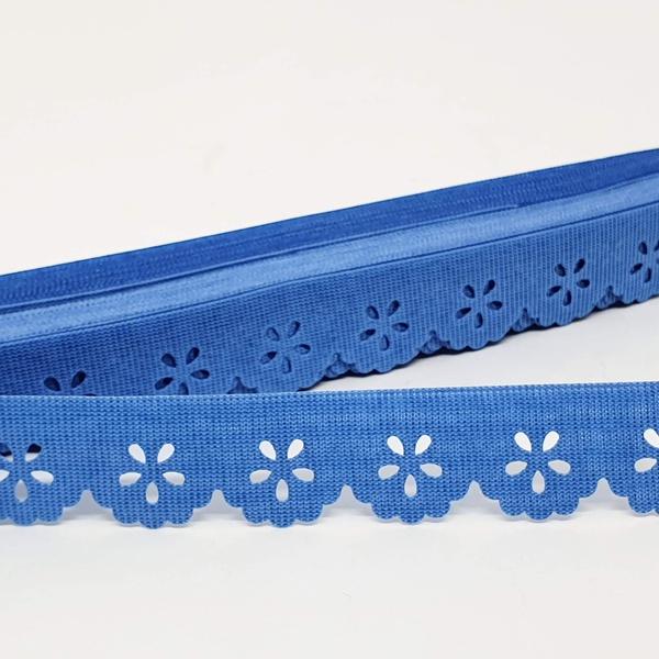 Mini Lasynha 01 cor lisa - Azul motorista - 01-214 - BOUTIQUEDASRENDAS