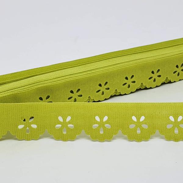 Mini Lasynha 01 cor lisa - Pistache - 01-230 - BOUTIQUEDASRENDAS
