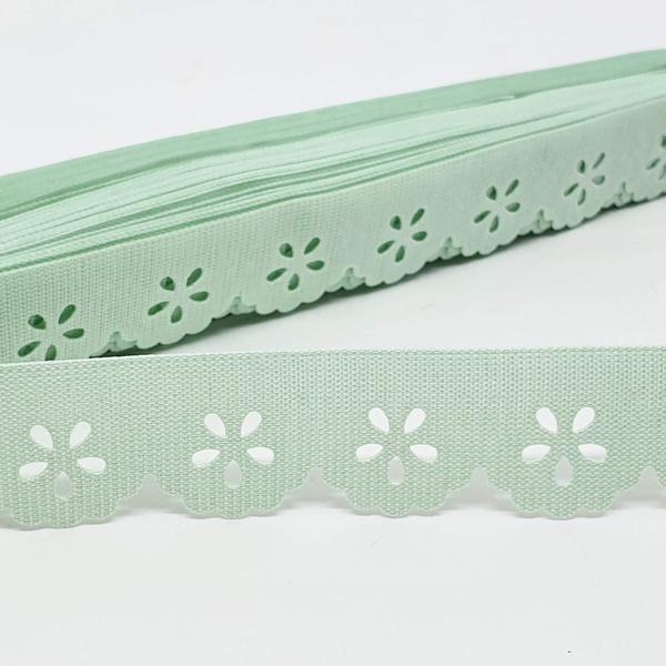 Mini Lasynha 01 cor lisa - Verde claro - 01-207 - BOUTIQUEDASRENDAS