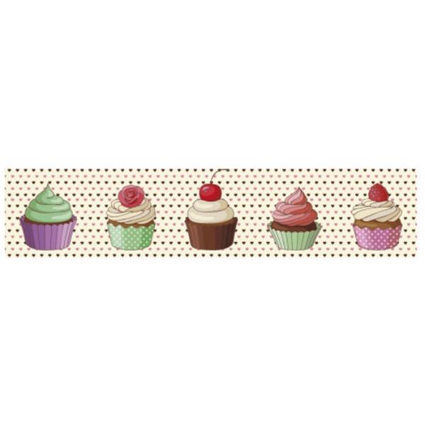 Faixa Digital Cupcake 7089 - (1 unidade) - 7089 - BOUTIQUEDASRENDAS
