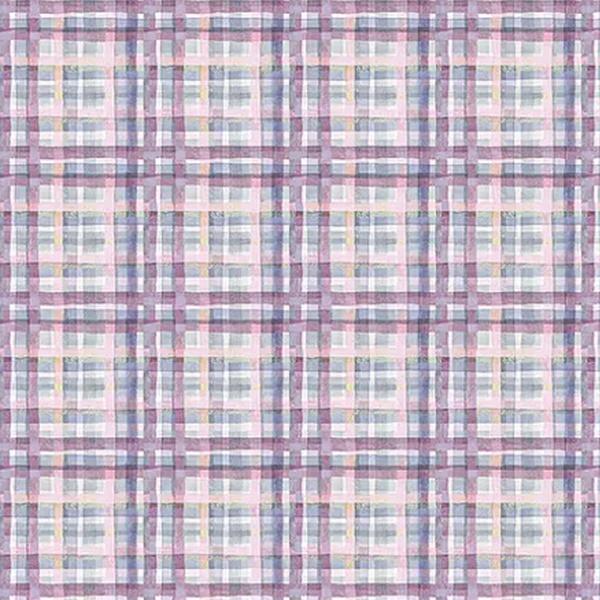 Tecido Digital Xadrez Costura - Lilás - CO006 - BOUTIQUEDASRENDAS