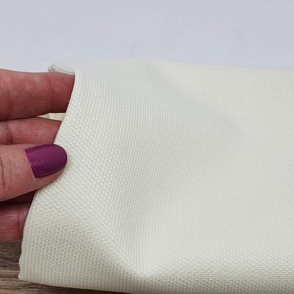 Tecido Fustão Misto - Branco - FUST-BRA - BOUTIQUEDASRENDAS