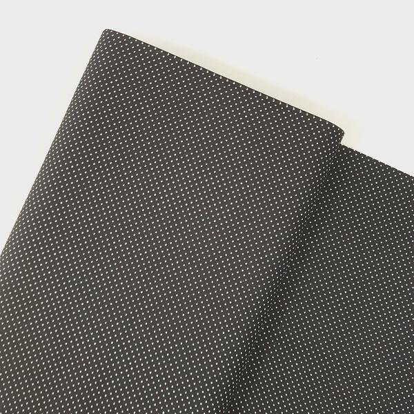 Tecido Tricoline 100% algodão Micro Poá - Preto - ... - BOUTIQUEDASRENDAS