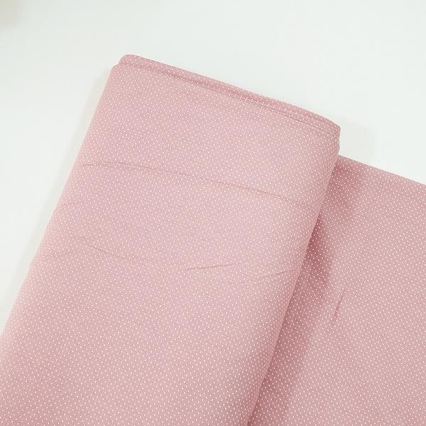 Tecido Tricoline 100% algodão Micro Poá - Rosê Blu... - BOUTIQUEDASRENDAS