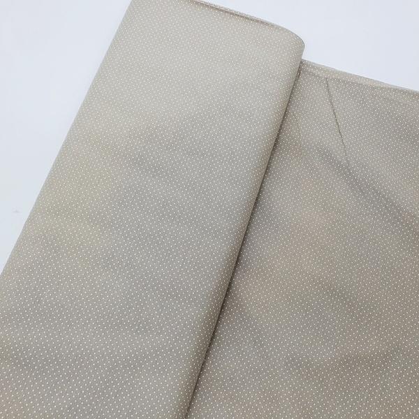 Tecido Tricoline Micro Poá - Caqui - 305-007-V05 - BOUTIQUEDASRENDAS