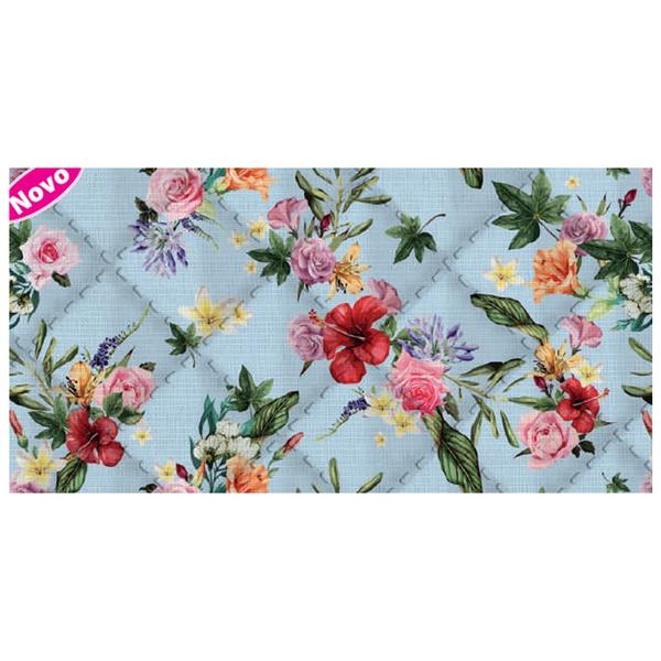 Placa de matelassê ultrassônico - Floral Havaiano ... - BOUTIQUEDASRENDAS