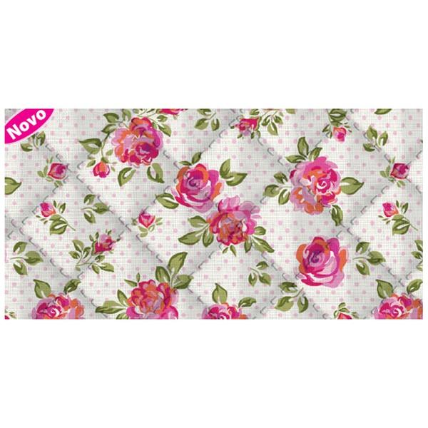 Placa de matelassê ultrassônico - Floral Poá P - 5... - BOUTIQUEDASRENDAS