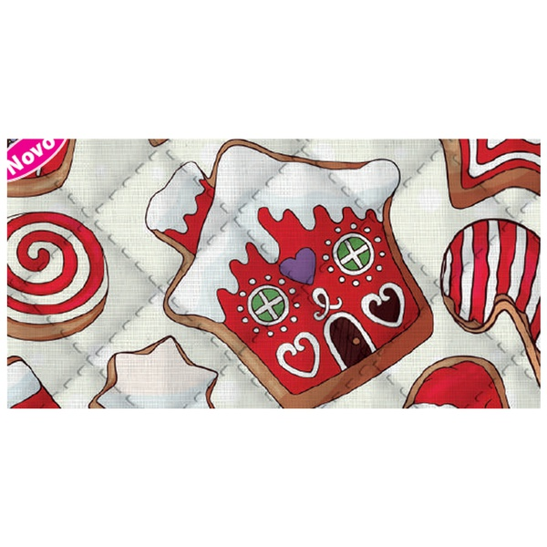 Placa de matelassê ultrassônico - Natal Sweet G - ... - BOUTIQUEDASRENDAS
