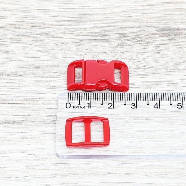 Fecho de engate rápido plástico 10mm - VERMELHOR (... - BOUTIQUEDASRENDAS