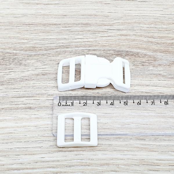 Fecho de engate rápido plástico 20mm - BRANCO (10 ... - BOUTIQUEDASRENDAS