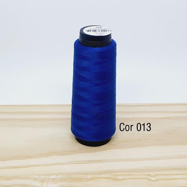 Linha para costura Resistente 2000j - cor 013 (azu... - BOUTIQUEDASRENDAS