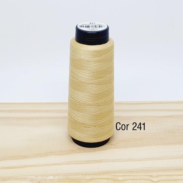 Linha para costura Resistente 2000j - cor 241 (beg... - BOUTIQUEDASRENDAS