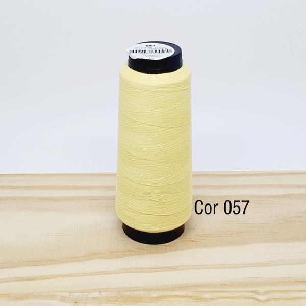 Linha para costura Resistente 2000j - cor 057 (pas... - BOUTIQUEDASRENDAS