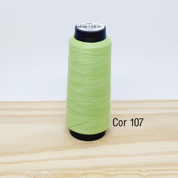 Linha para costura Resistente 2000j - cor 107 (ver... - BOUTIQUEDASRENDAS