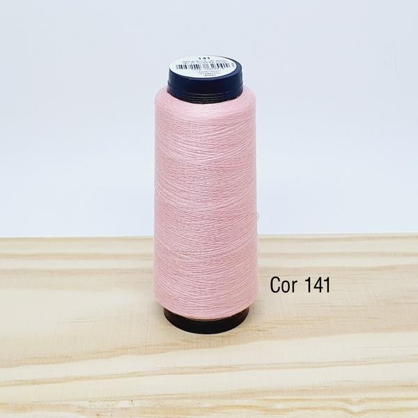 Linha para costura Resistente 2000j - cor 141 (sal... - BOUTIQUEDASRENDAS