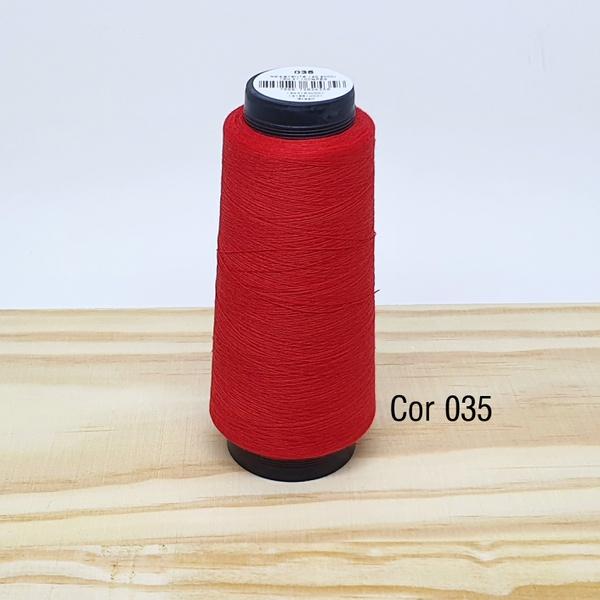 Linha para costura Resistente 2000j - cor 035 (ver... - BOUTIQUEDASRENDAS