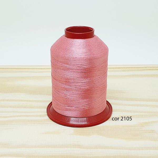 Linha para bordar Ricamare 4000mt - cor 2105 (rosa... - BOUTIQUEDASRENDAS
