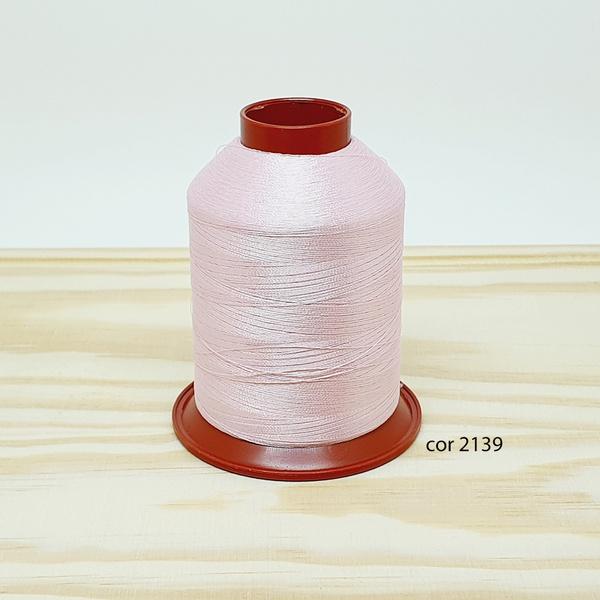 Linha para bordar Ricamare 4000mt - cor 2139 (rosa... - BOUTIQUEDASRENDAS