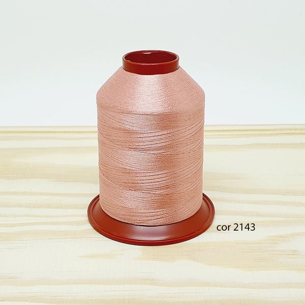 Linha para bordar Ricamare 4000mt - cor 2143 (rosê... - BOUTIQUEDASRENDAS
