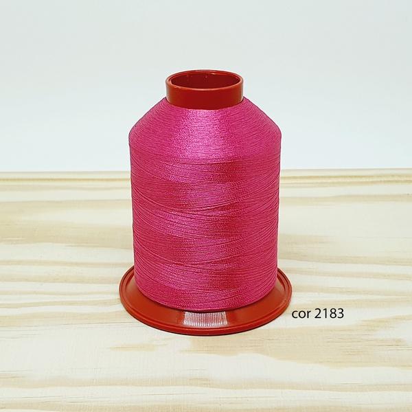 Linha para bordar Ricamare 4000mt - cor 2183 (pink... - BOUTIQUEDASRENDAS