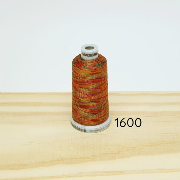 Linha matizada para bordado e quilt - cor 1600 - 1... - BOUTIQUEDASRENDAS