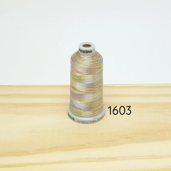 Linha matizada para bordado e quilt - cor 1603 - 1... - BOUTIQUEDASRENDAS