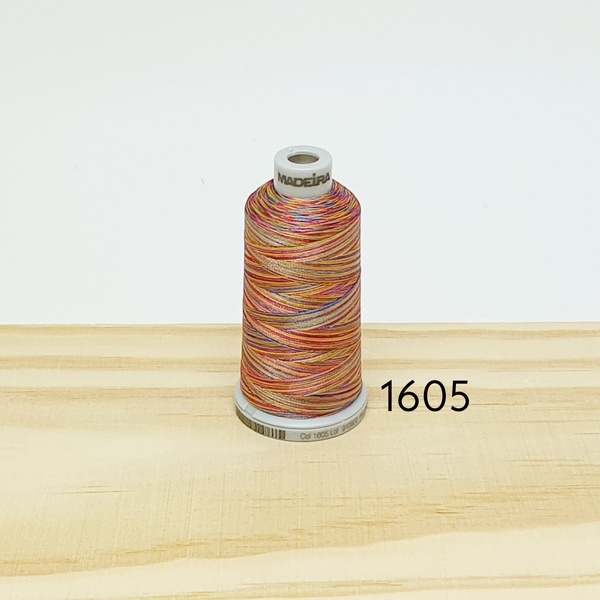 Linha matizada para bordado e quilt - cor 1605 - 1... - BOUTIQUEDASRENDAS