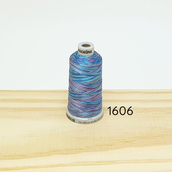 Linha matizada para bordado e quilt - cor 1606 - 1... - BOUTIQUEDASRENDAS