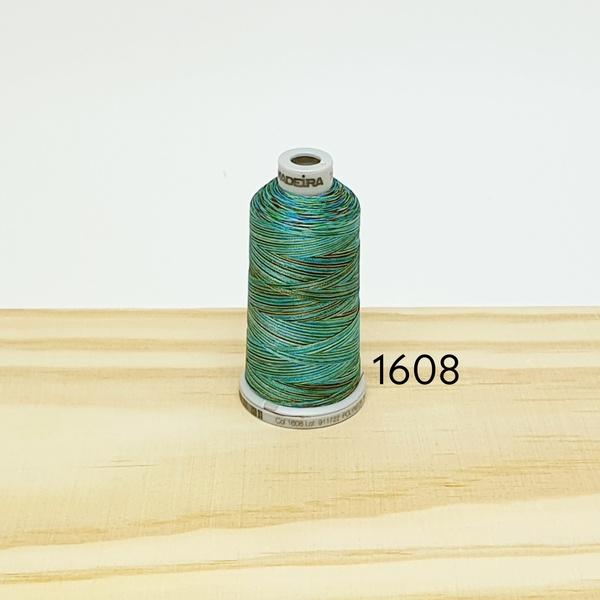 Linha matizada para bordado e quilt - cor 1608 - 1... - BOUTIQUEDASRENDAS