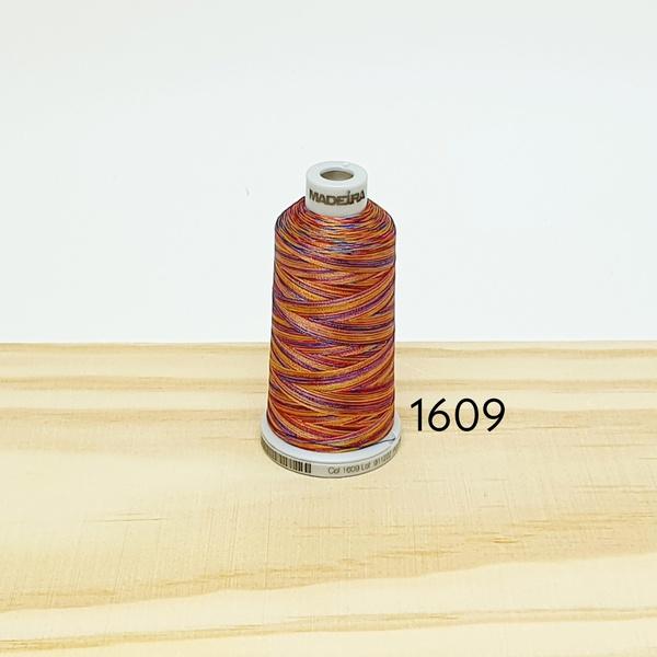 Linha matizada para bordado e quilt - cor 1609 - 1... - BOUTIQUEDASRENDAS
