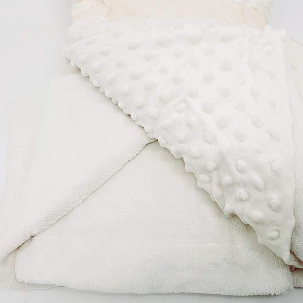 Manta cobertor de plush Sweet Baby de bolinha - Ma... - BOUTIQUEDASRENDAS