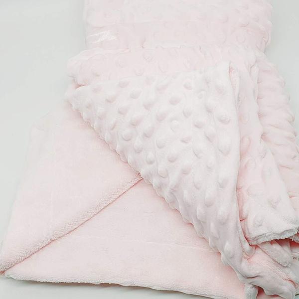 Manta cobertor de plush Sweet Baby de bolinha - Ro... - BOUTIQUEDASRENDAS