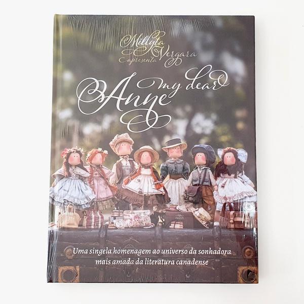 Livro My Dear Anne - Millyta Vergara - LIV-03 - BOUTIQUEDASRENDAS