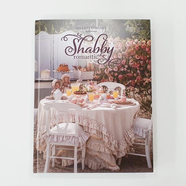Livro Shabby Romantic- Millyta Vergara - LIV-02 - BOUTIQUEDASRENDAS