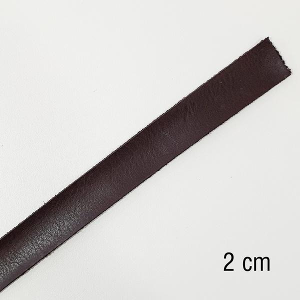 Tira de Montana sintético 1.5 - Café (2 cm) - T12 - BOUTIQUEDASRENDAS