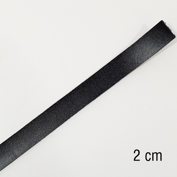 Tira de Montana sintético 1.5 - Preto (2 cm) - T32 - BOUTIQUEDASRENDAS